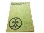 WYBÓR NOWEL - Henryk Sienkiewicz 1977