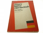 WZORY LISTÓW NIEMIECKICH - Zofia Kwapisz (1990)