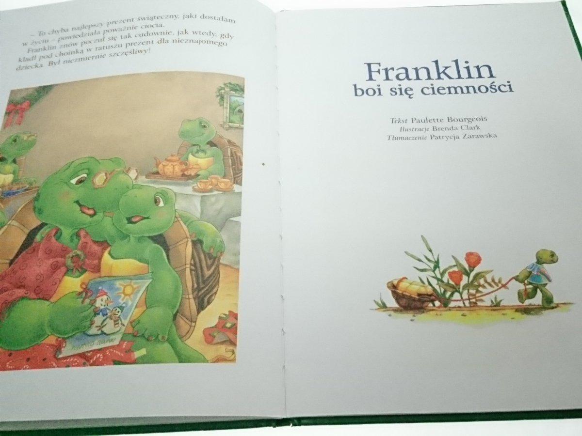 Franklin I Prezent świąteczny Franklin Boi Się Ciemności