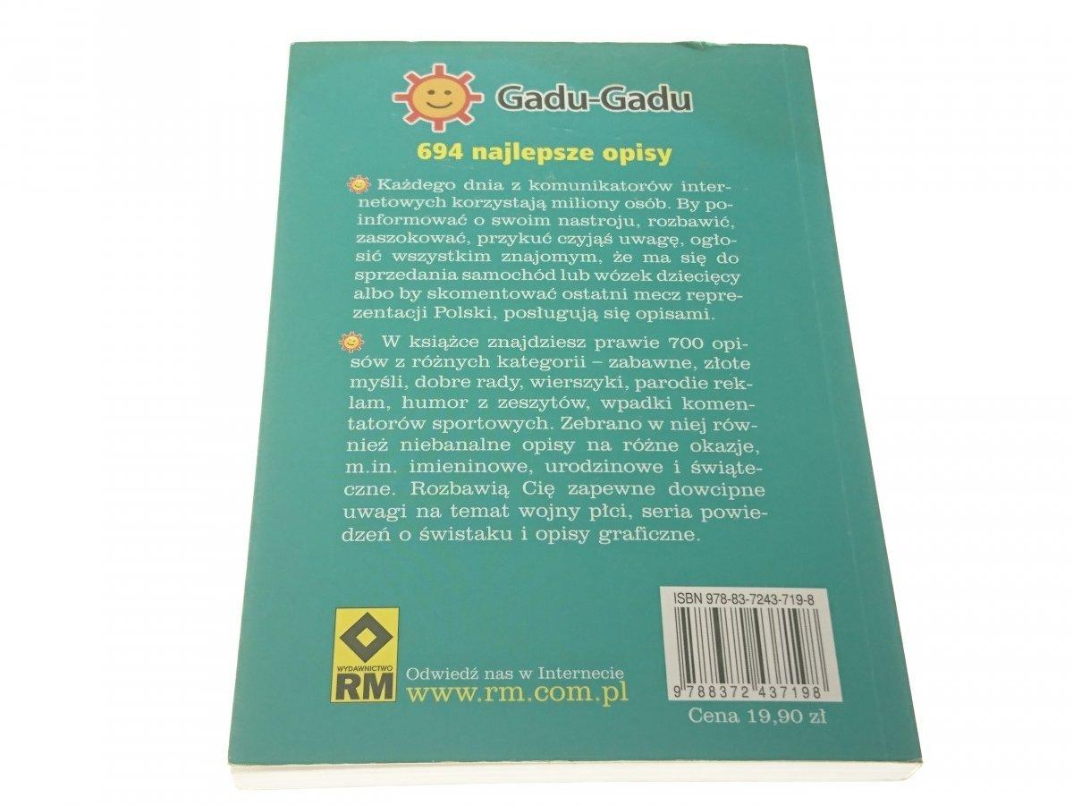 Gadu Gadu 694 Najlepsze Opisy Wasilewscy 2008