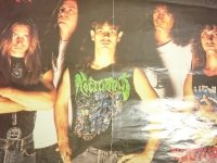 TRASH EM ALL. PLAKAT NOCTURNUS NECROPHOBIC 41 x 29