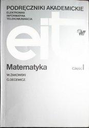 PODRĘCZNIKI AKADEMICKIE. MATEMATYKA CZĘŚĆ I Żakowski