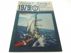 ŚWIAT ŻAGLI 1979 ROCZNIK POLSKIEGO ZWIĄZKU...1980
