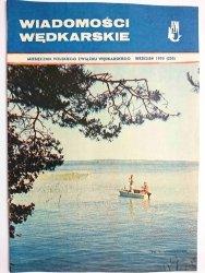 WIADOMOŚCI WĘDKARSKIE WRZESIEŃ 1970 (255)