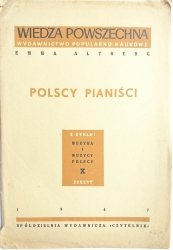 POLSCY PIANIŚCI - Emma Altberg 1947