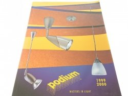 PODIUM. MASTERS IN LIGHT 1999/2000 KATALOG