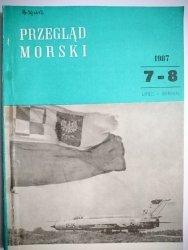 PRZEGLĄD MORSKI NR 7-8 LIPIEC-SIERPIEŃ 1987