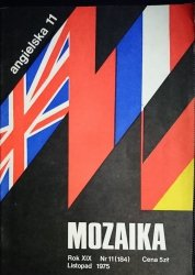 MOZAIKA ANGIELSKA 11 ROK XIX NR 11 (184) LISTOPAD 1975