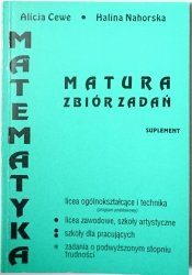 MATEMATYKA. MATURA ZBIÓR ZADAŃ SUPLEMENT 1993