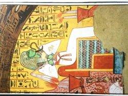 EGYPT. LUXOR DEIR-EL MEDINA. TOMB OF INHERKA #01