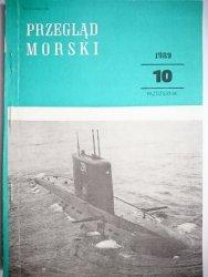 PRZEGLĄD MORSKI NR 10 PAŹDZIERNIK 1989