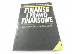 FINANSOWE I PRAWO FINANSOWE - Majchrzycka-Guzowska