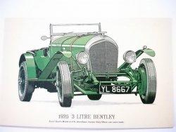1925 3 LITRE BENTLEY - REPRODUCTIONS