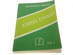 BIBLIOTHECA IURIDICA NR.1 KODEKS CYWILNY (1990)