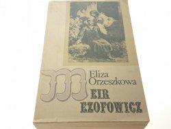 MEIR EZOFOWICZ TOM PIERWSZY - ELIZA ORZESZKOWA