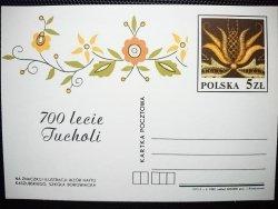 KARTKA POCZTOWA. 700 LECIE TUCHOLI