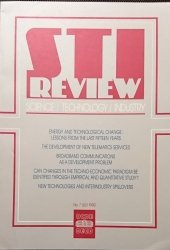 STI REVIEW SCIENCE TECHNOLOGY INDUSTRY NO. 7 JULY 1990