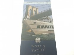 THE NEW YORK DINING CRUISE. WORLD YACHT 2006
