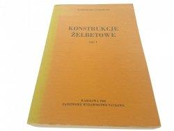 KONSTRUKCJE ŻELBETOWE TOM I - Starosolski (2 1989)
