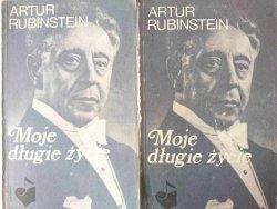 MOJE DŁUGIE ŻYCIE TOM I i II - Artur Rubinstein 1988