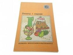 DESERY I NAPOJE - Brzozowska-Bączkiewicz 1985