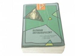 SŁOWNIK ORTOGRAFICZNY (Wydanie VI 1999)