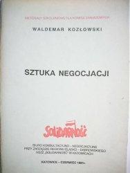 SZTUKA NEGOCJACJI - Waldemar Kozłowski 1991