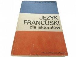 JĘZYK FRANCUSKI - F. Jungman (1986)
