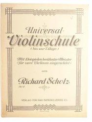 UNIVERSAL VIOLINSCHULE BIS ZUR 7 LAGE. TEIL II - Richard Scholz