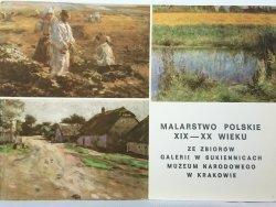 MALARSTWO POLSKIE XIX-XX WIEKU