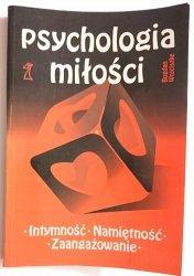 PSYCHOLOGIA MIŁOŚCI - Bogdan Wojciszke 1993