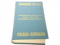 MAŁY SŁOWNIK SZWEDZKO-POLSKI POLSKO-SZWEDZKI 1983