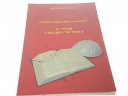 101 PYTAŃ O NASTĘPCY ŚW. PIOTRA Ks Krzysztof Drews