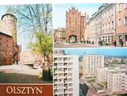 OLSZTYN. ZAMEK - FRAGMENT... FOT. P. KRASSOWSKI