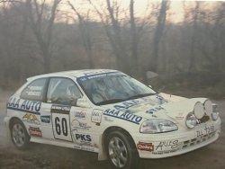 RAJD WRC 2005 ZDJĘCIE NUMER #318 HONDA CIVIC