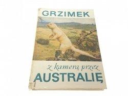 Z KAMERĄ PRZEZ AUSTRALIĘ - Bernhard Grzimek 1970