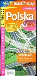 POLSKA PLASTIK. MAPA SAMOCHODOWA 1: 750 000
