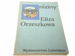 NIZINY - Eliza Orzeszkowa (1981)