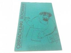 OBRACHUNKI BOYOWSKIE - Barbara Winklowa (1975)