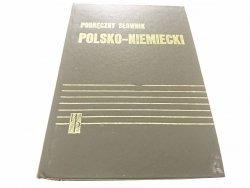 PODRĘCZNY SŁOWNIK POLSKO-NIEMIECKI - Bzdęga 1977
