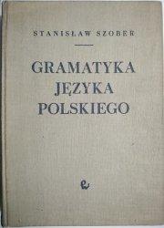 GRAMATYKA JĘZYKA POLSKIEGO - Stanisław Szober 1963