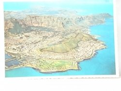 CAPE TOWN. AERIAL VIEW FROM 2500 m