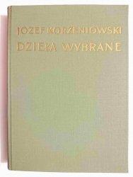DZIEŁA WYBRANE TOM IV KREWNI TOM I - Józef Korzeniowski 1954