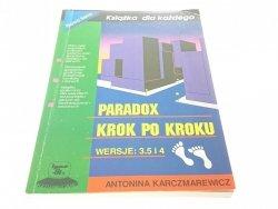 PARADOX KROK PO KROKU WERSJE: 3.5 ,4 Karczmarewicz