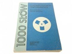 1000 SŁÓW. O KOMPUTERACH I INFORMATYCE  Buśko 1982