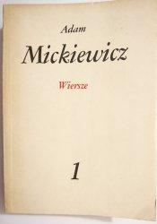 WIERSZE - Adam Mickiewicz 1982