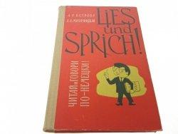 LIES UND SPRICH! 1967