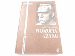 FILOZOFIA CZYNU - Bohdan Urbankowski 1988