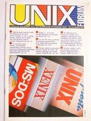 UNIX FORUM NR 2 (3) 4 MARCA 1993