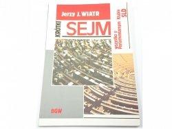 KRÓTKI SEJM - Jerzy J. Wiatr 1993